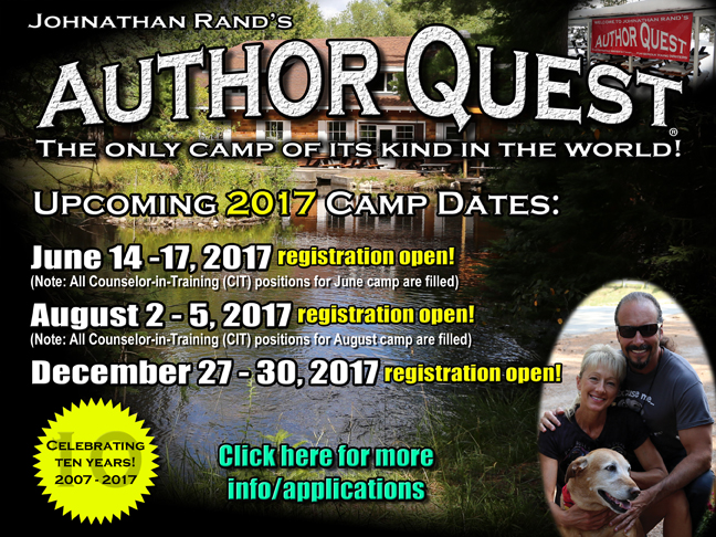 170212 Author Quest 2017 Dates